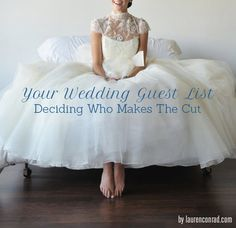 Wedding Bells: My Guest List Rule