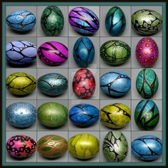 I have been going a little nuts with painting eggs lately. It's so fun! I have been using everything from ink and acrylics to markers, liquid beads, masking fluid and embossing powder LOL. It's lik...