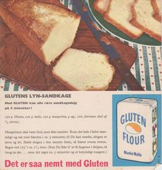 Glutens Lyn-sandkage