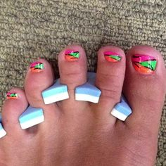 this bitch has some ugly toes! lol but cute idea ;)