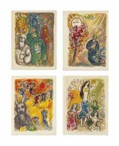 MARC CHAGALL (1887-1985) The Story of the Exodus, Léon Amiel, Paris and New York, 1966