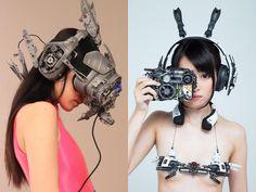Cyberpunk – The impressive creations of Hiroto Ikeuchi Cyberpunk Mode, Cyberpunk Girl, Cyberpunk 2077, Cyberpunk Fashion, Neo Japan 2202, Female Cyborg, Sci Fi Armor, Cosplay, Dieselpunk