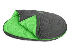 Highlands Sleeping Bag: A dog who has a sleeping bag of their own won't try to sleep on or in yours. The Highlands Sleeping Bag from Ruff Wear travels well and offers a cozy place for your dog t Down Sleeping Bag, Sleeping Dogs, Outdoor Dog, Outdoor Gear, Dog Pads, Dog Rooms, Dog Travel, Camping Gear, Backpacking
