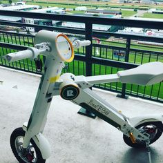 Instagram picutre by @scootebike: Are you ready fpr the best two minutes in Sports?? @kentuckyderby  The #ScootEBike by @Raytronks on the top floor! #MillionairesRow  #kentuckyderby2016 First time in history the #Derby allows a #EBIKE  on #MillionairsRow - that should tell you somthing about the product!its safe foldable fashionable  and approved by the best!! Get yours today at  ScootEBike.com Who are you betting on?? - Shop E-Bikes at ElectricBikeCity.com (Use coupon PINTEREST for 10%…