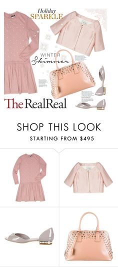 """Holiday Sparkle With The RealReal: Contest Entry"" by soyance ❤ liked on Polyvore featuring mode, Chanel, Valentino et Prada"