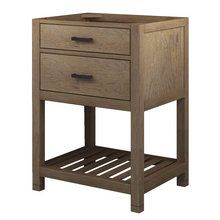 "View the Sagehill Designs TB2421D Toby 24"" Vanity Cabinet Only With One Drawer at FaucetDirect.com."