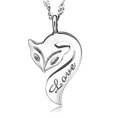 Sephla White Gold Plated Firefox Pendant Necklace For Women. High polish finish. Cute fox design with silver and secures with lobster claw clasp. Made From Professional Quality Material,No allergic materials. Fashionable and comfortable to wear. Match with suitable apparel for different occasion.