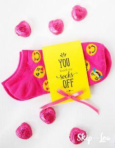 Printable Valentines For Socks