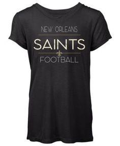 506a8d4d9 5th  amp  Ocean Women s New Orleans Saints Rayon V T-Shirt - Black XL