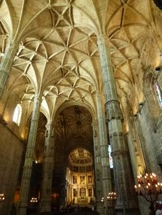 """Igreja de Santa Maria"", Mosteiro dos Jeronimos, Lispoa Portugal (Luglio)"