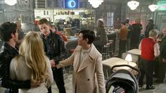 """Emma, Hook, David and Mary Margaret - 4 * 22 """"Operation Mongoose Part 2"""" #CaptainSwan #Snowing"""