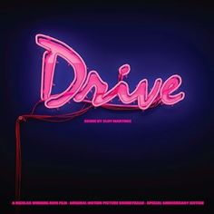 The Drive soundtrack turns five this year, and to mark the occasion, @InvadaRecords (Geoff Barrow's label) and @LakeshoreRecords are putting out limited edition fifth anniversary vinyl. The new pressing features new artwork (pictured) and new liner notes written by Refn and composer Cliff Martinez; it will be available from September 30 to December 31.