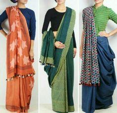 Handloom sarees
