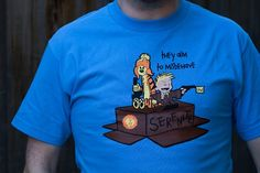 Cool Tee for Browncoats and Calvin and Hobbes Fans: Malvin & Cobbes