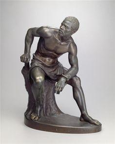 The Freedman  1863 John Quincy Adams Ward (American, 1830-1910)