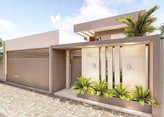Best 12 Reggie' s modern wall – SkillOfKing. Gate Wall Design, House Fence Design, Front Wall Design, Exterior Wall Design, Modern Fence Design, Entrance Design, Modern House Design, Compound Wall Design, Dream House Exterior