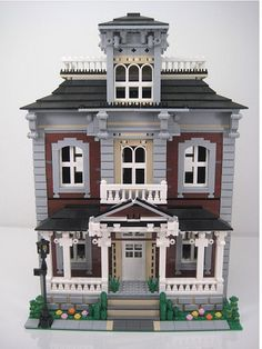 Brickstone Manor Victorian Home Front View   Flickr - Photo Sharing!