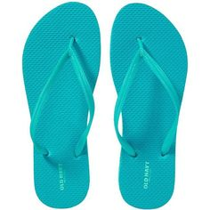 Old Navy Womens Classic Flip Flops (32 ZAR) ❤ liked on Polyvore featuring shoes, sandals, flip flops, blue, blue sandals, flip flop sandals, strap sandals, twisted shoes and old navy shoes