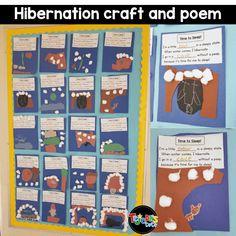 Preschool Themes, Preschool Science, Kindergarten Activities, Preschool Winter, Weather Kindergarten, Animals That Hibernate, Animal Adaptations, Winter Activities, Health Education