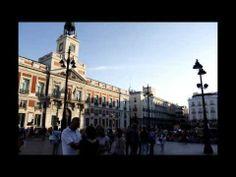 Anochece en la Puerta del Sol HD