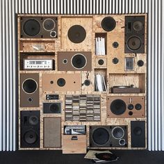 Production Studio & Event Space in Chicago, IL. Record Crate, Sound Room, Recording Studio Design, Garage Interior, Home Studio Music, Room Themes, Instagram Shop, Vintage Industrial, Installation Art
