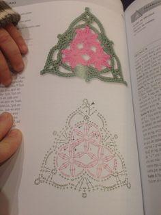 Triángulo flor