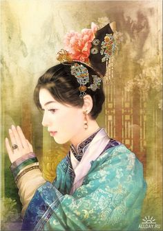 Der Jen. Der Jen. Illustration Collection of the Ancient Chinese People - The Zephyr-Love Stories of the Royal Manchu in the Forbidden City.
