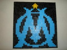 Logo Om, Art Logo, Pixel Art, Modele Pixel, Bat Signal, Perler Beads, Superhero Logos, Creations, Google