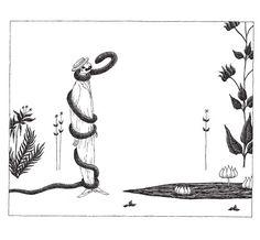 The Evil Garden by Edward Gorey