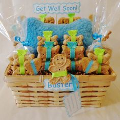 This treat basket is the perfect way to help a sick pet feel better faster…