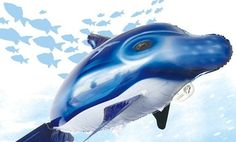 Superfliers Remote-Controlled Flying Dolphin Swimmer. Free Returns.