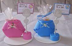 Fazer lembrancinha de chá de fraldas, chá de bebe ou maternidade