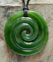 Jade Koru Pendant Maori Designs, Nz Art, Fibonacci Spiral, Bone Jewelry, Maori Art, Biscuit, Bone Carving, Green Stone, Metal Sculptures