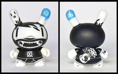 mcbess Dunny by eongmd444, via Flickr Designer Toys, Toys Shop, Doll Toys, Art Dolls, Minnie Mouse, Disney Characters, Rock, Style, Swag