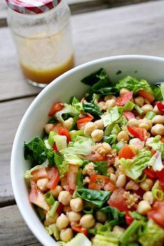 Beloved Green: Chickpea Salad