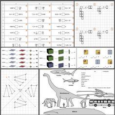 Oppgaver og spill i matematikk lages med M+!