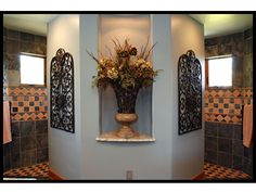 In LOVE with this Master Bathroom! A Dream Come True! Great Wrap ...