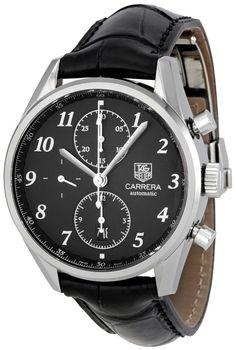 Tag Heuer Men's CAS2110.FC6266 Carrera Black Dial Dress Watch