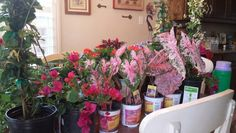 2014 Round 3 flower shopping