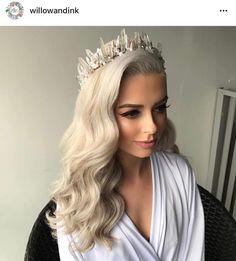 Crystal crown. Wedding
