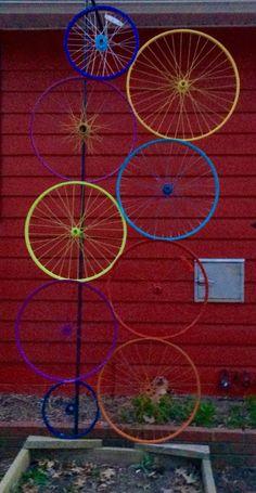 Bicycle rim trellis