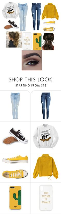 """Cozy"" by hysterical-potato ❤ liked on Polyvore featuring Converse, WithChic, Sonix and JustFab"