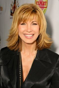 Leeza Gibbons - We saw her when we went to a taping of her talk show back in 1997.