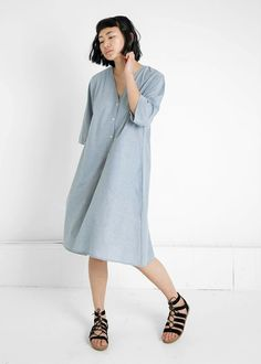 Kowtow - 100% Certified Fair Trade Organic Cotton Clothing - Domus Shirt Dress
