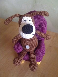 Ravelry: Dog Buffy Amigurumi toy By Svetlana Pertseva pattern by Ekaterina Sharapova