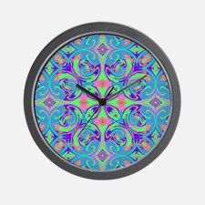 Bohemian Retro Hippie Style Wall Clock for