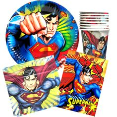 Super Man Party Pack