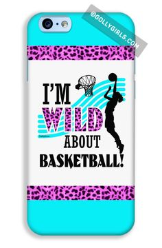 Golly Girls: Wild About Basketball Cases for iPhone 6 just $16.99 on gollygirls.com