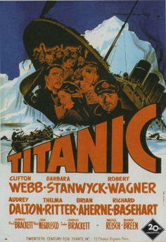 'Titanic', In 1954 - Won an Academy Award for BEST WRITING (STORY AND SCREENPLAY) The award was accepted by: Charles Brackett, Walter Reisch & Richard Breen.