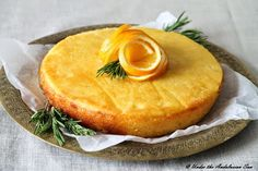 Under the Andalusian Sun food, wine and travel blog: Gluten-free orange and rosemary polenta cake